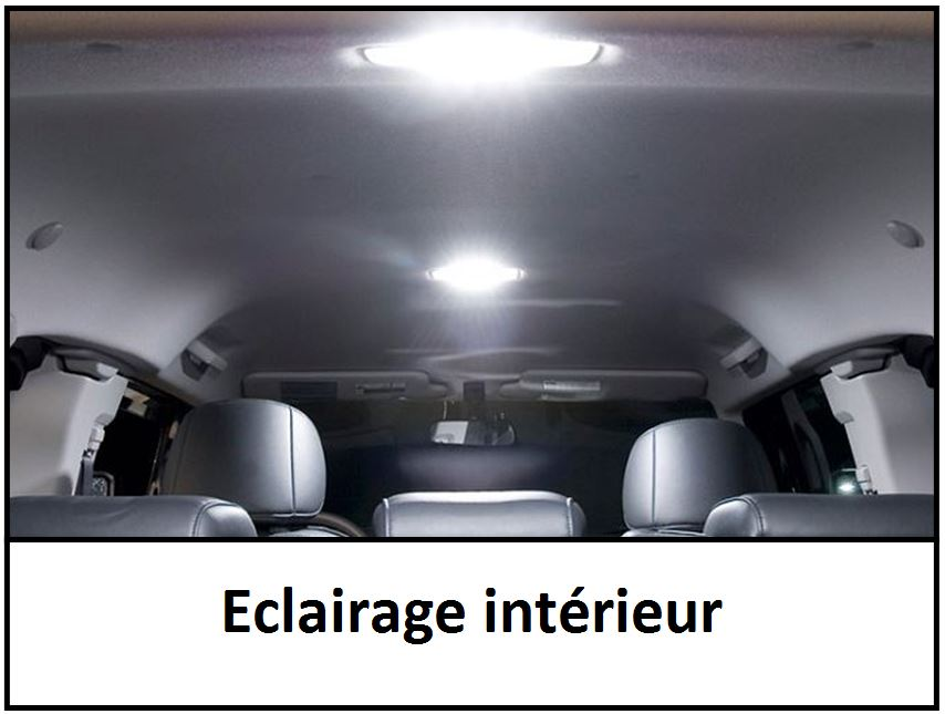 Leds clairage int rieur for Eclairage interieur